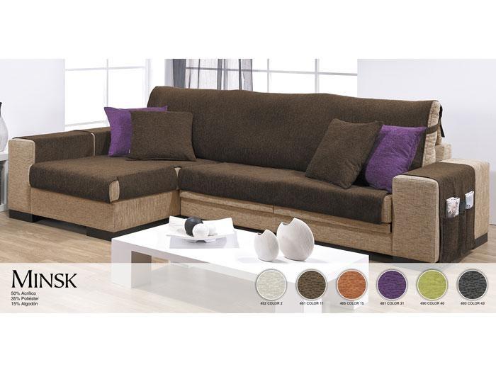 Llegan las fundas para sof chaise longue blog textil - Funda para sofa chaise longue ...