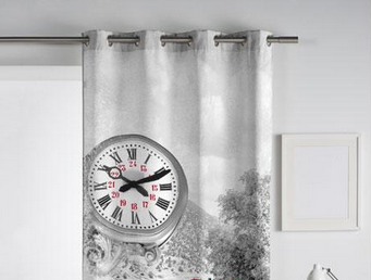 Cortinas de ojales o de trabillas blog textil hogar for Cortinas trabillas confeccionadas