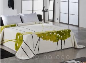 originales mantas de cama de pielsa