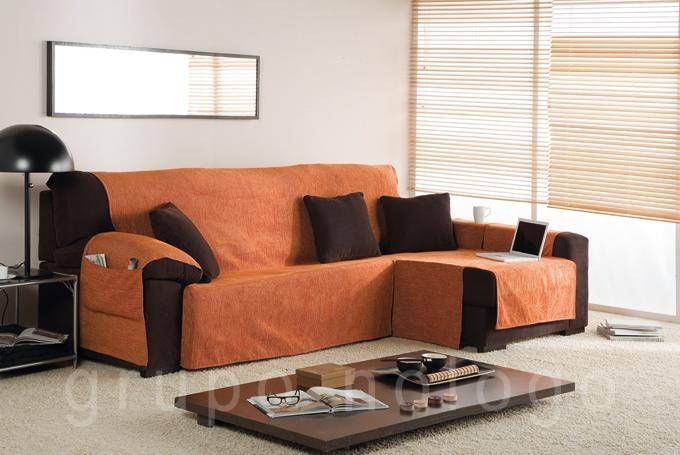 Funda sofa chaise longue Peiro