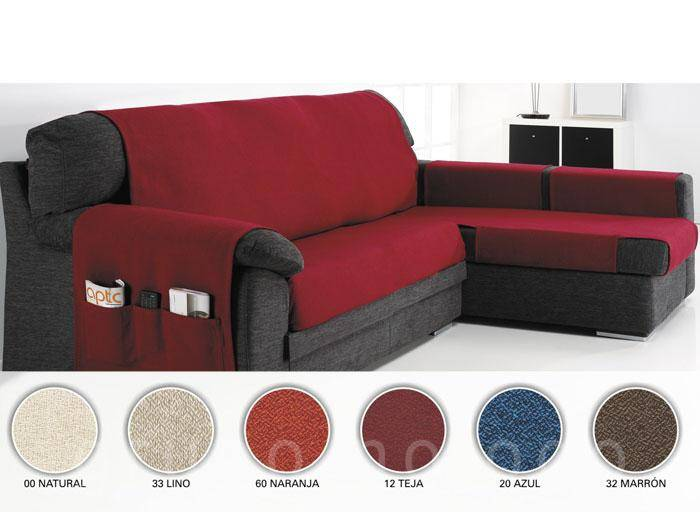 Funda sofa chaise longue serena comprar funda sofa chaise - Funda de sofa chaise longue ...