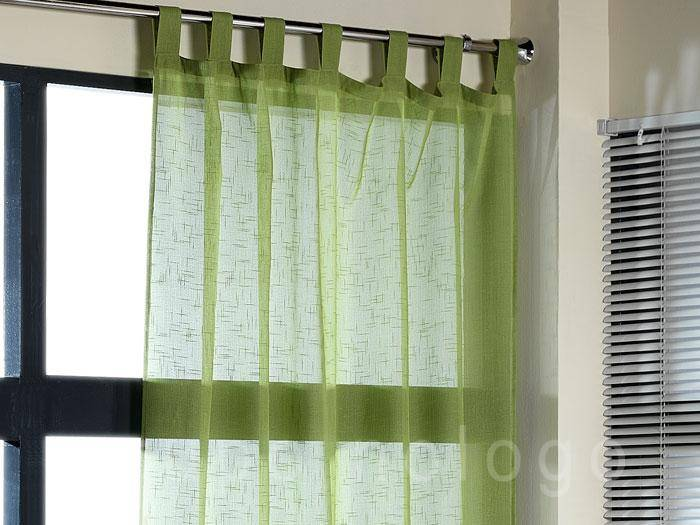 Cortina visillo con presillas daniela comprar cortina for Cortinas tipo visillo