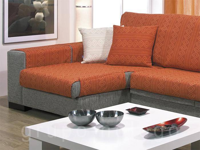 Fundas de sofa fundas para sofa chaise longue funda de for Ikea colchas sofa