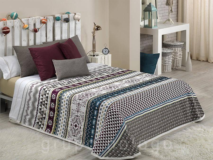 Colchas de cama baratas colchas reversibles de capa y pique - Colchas para sofas baratas ...