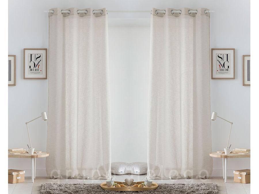 cortina con ojales atira comprar cortina con ojales atira
