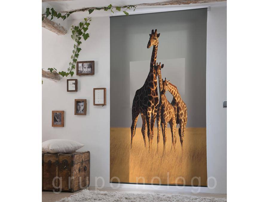 Estor digital enrollable Giraffe