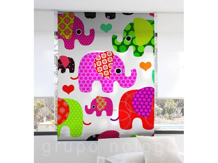 Cortinas enrollables Elephant