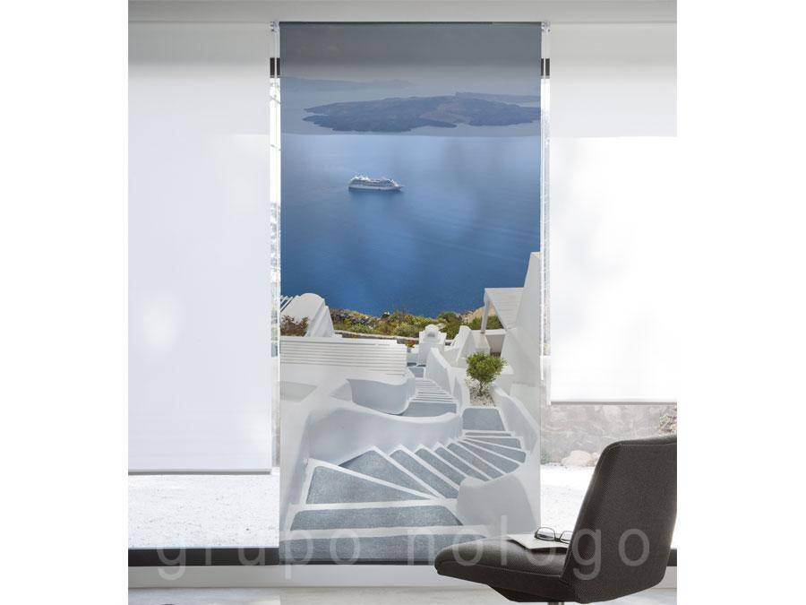 Cortinas enrollables Grecia