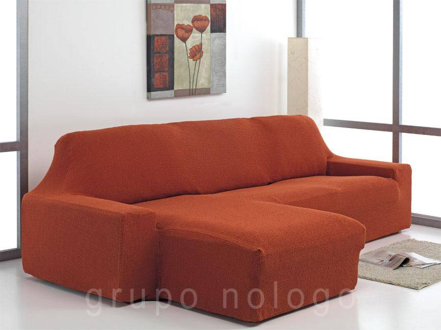 Funda chaise longue ajustable daniela comprar funda chaise longue - Funda sofa chaise longue ...