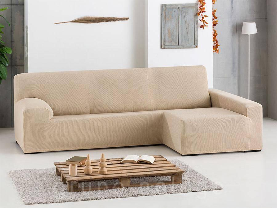 Funda sof chaise longue elastica ulises comprar funda for Fundas elasticas chaise longue