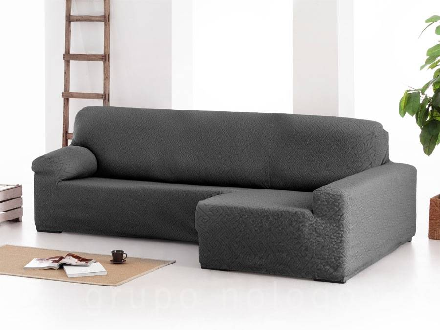 Funda sofá chaise longue ajustable Arion