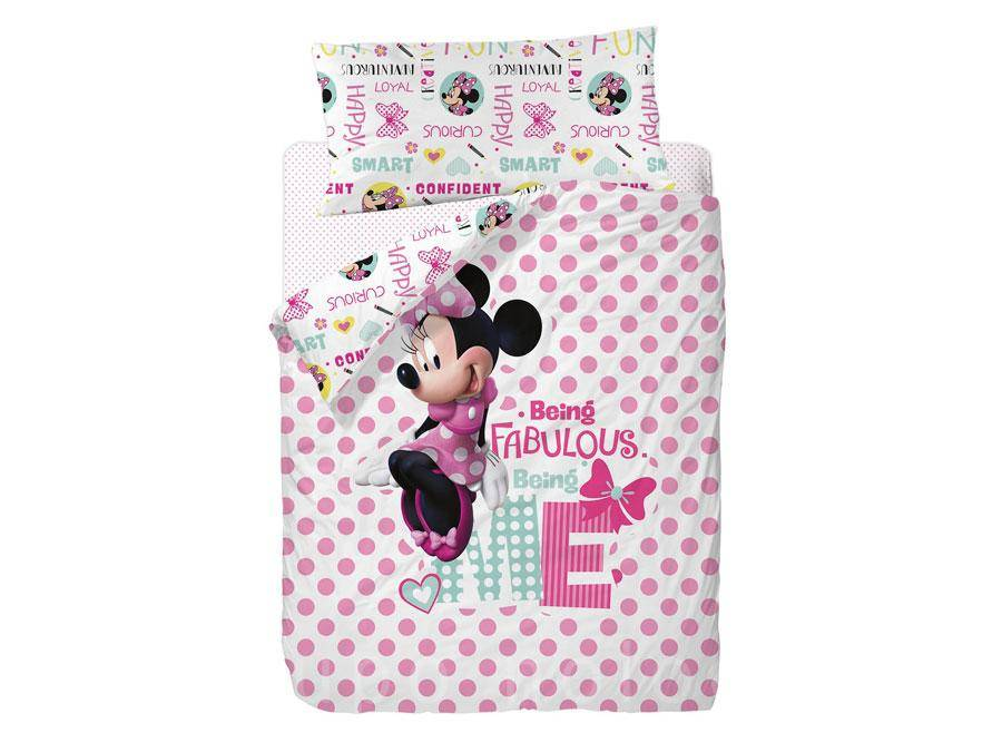 Funda nórdica Minnie Mouse Fabulous