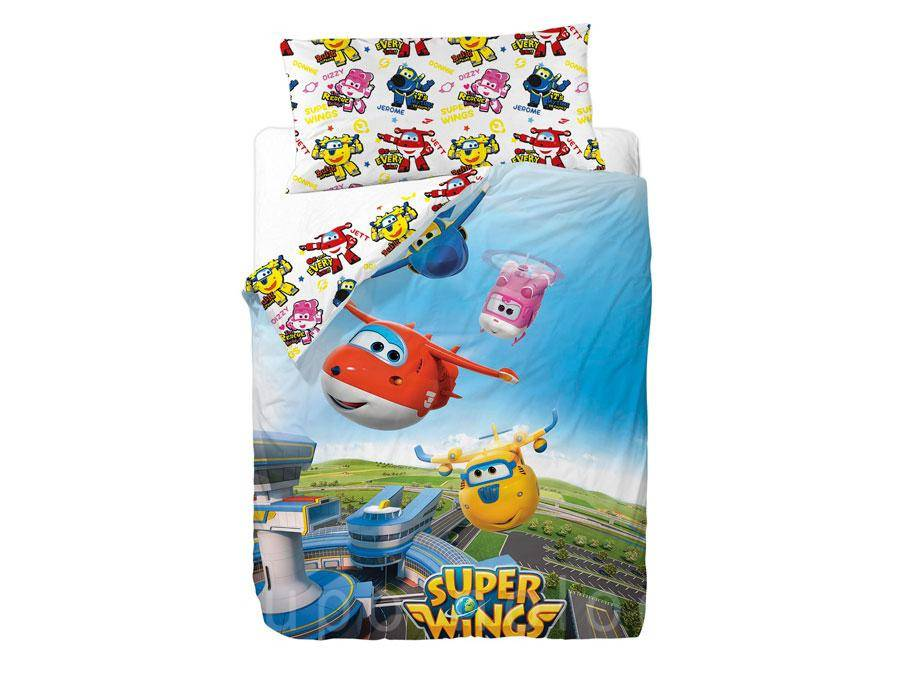Funda nordica Super Wings