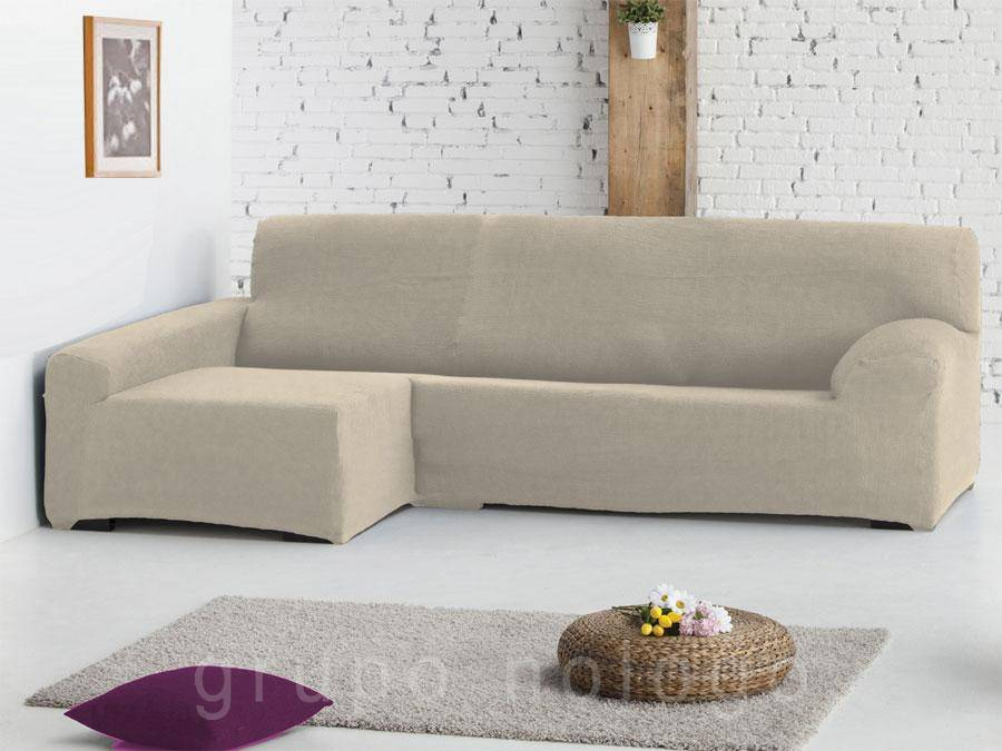 Fundas sof de sofa para chaise longue funda pictures - Funda de sofa chaise longue ...